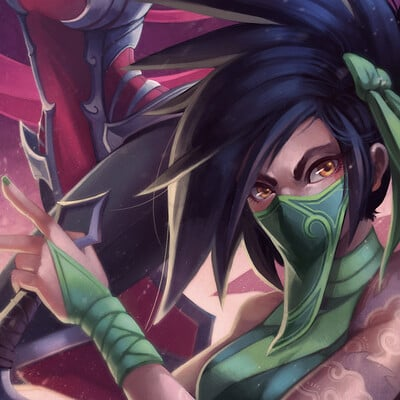 Chamille mies akali irelia full community template cmies