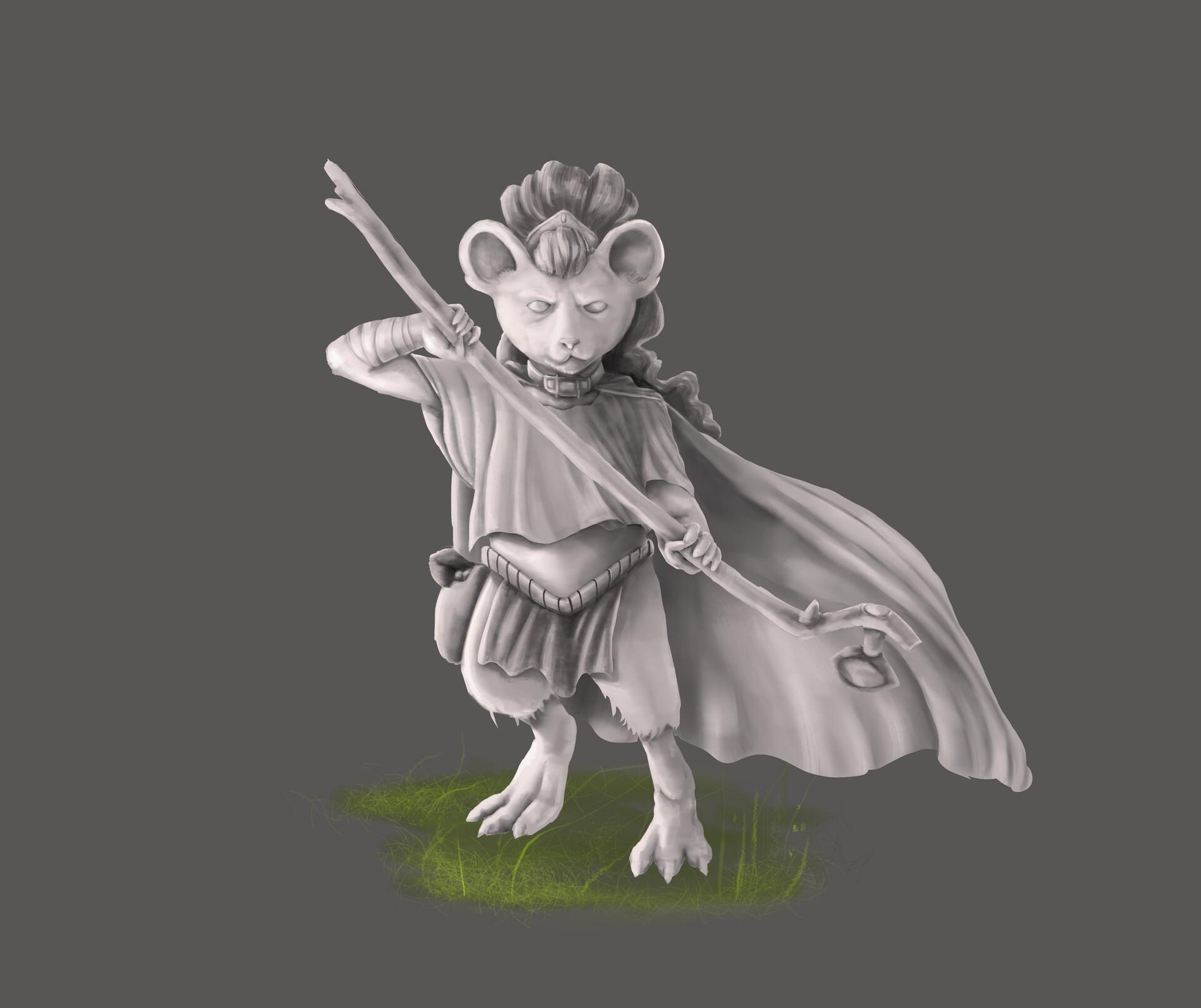 Italo gaspar mouse warrior