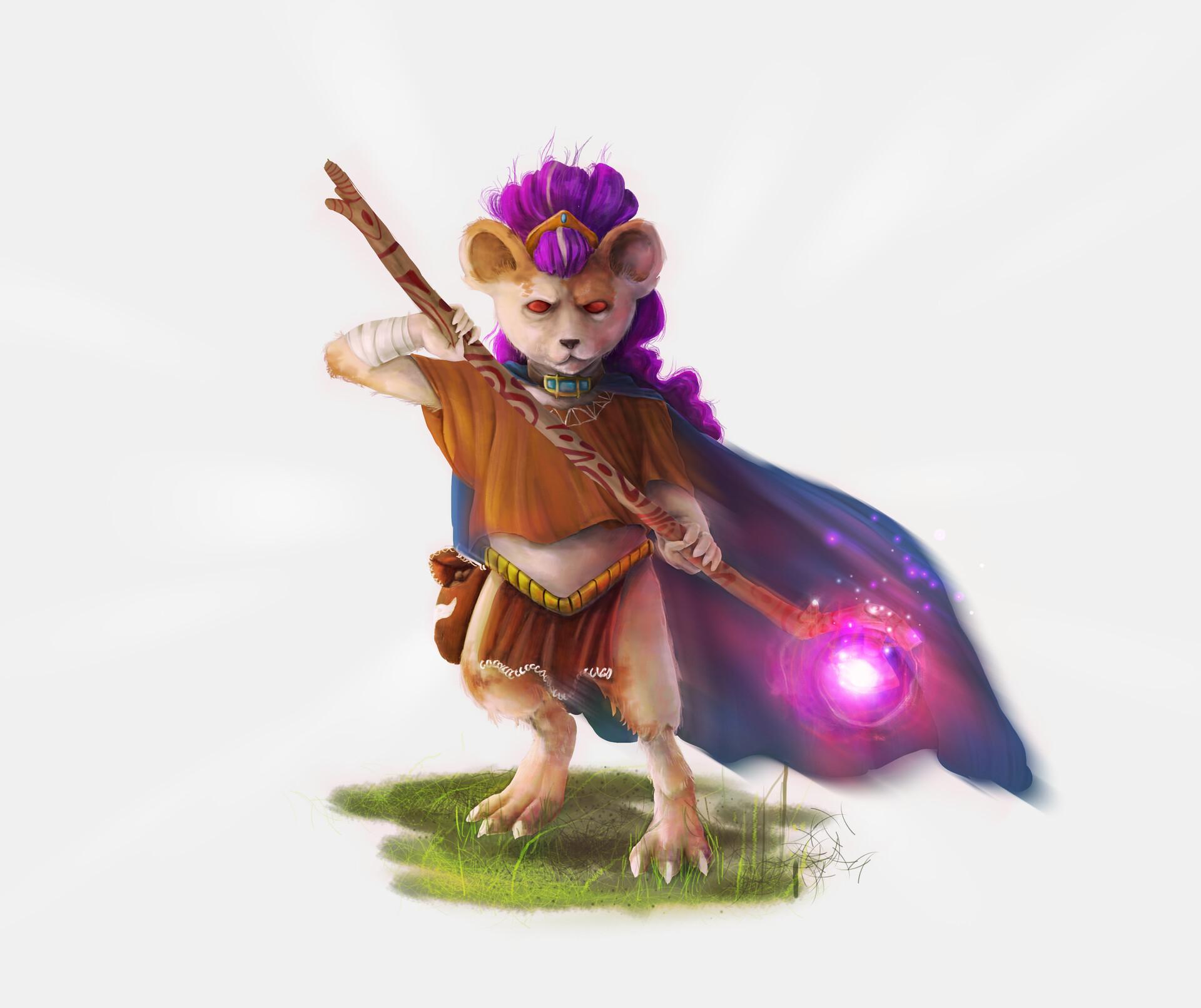 Italo gaspar mouse warrior2