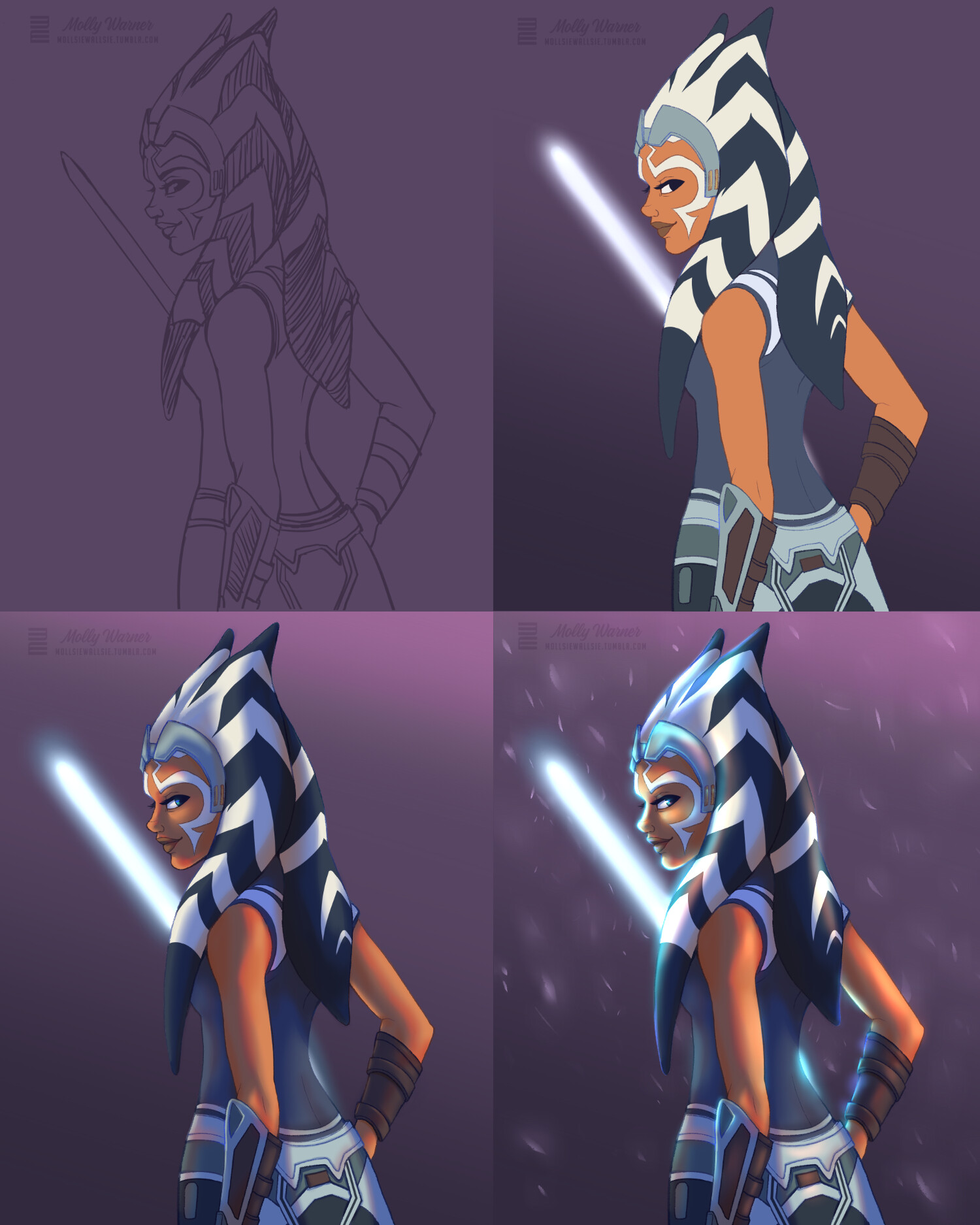 Molly warner ahsoka clone wars renewal process