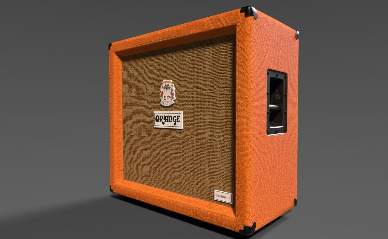 ArtStation - Orange Crush Pro 412 Guitar amp, slob on my nob
