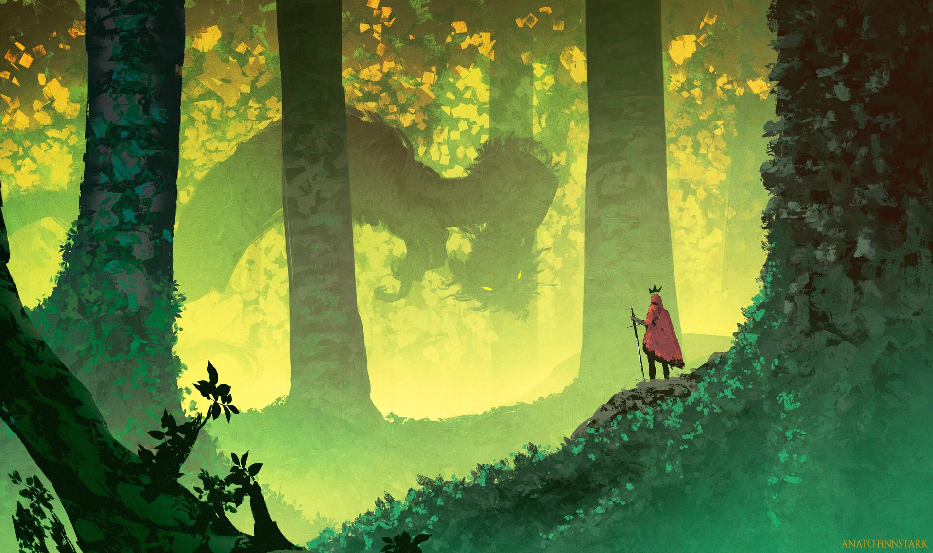 Anato finnstark the king s journey the forest s guardian by anatofinnstark dcy2tc8 fullview