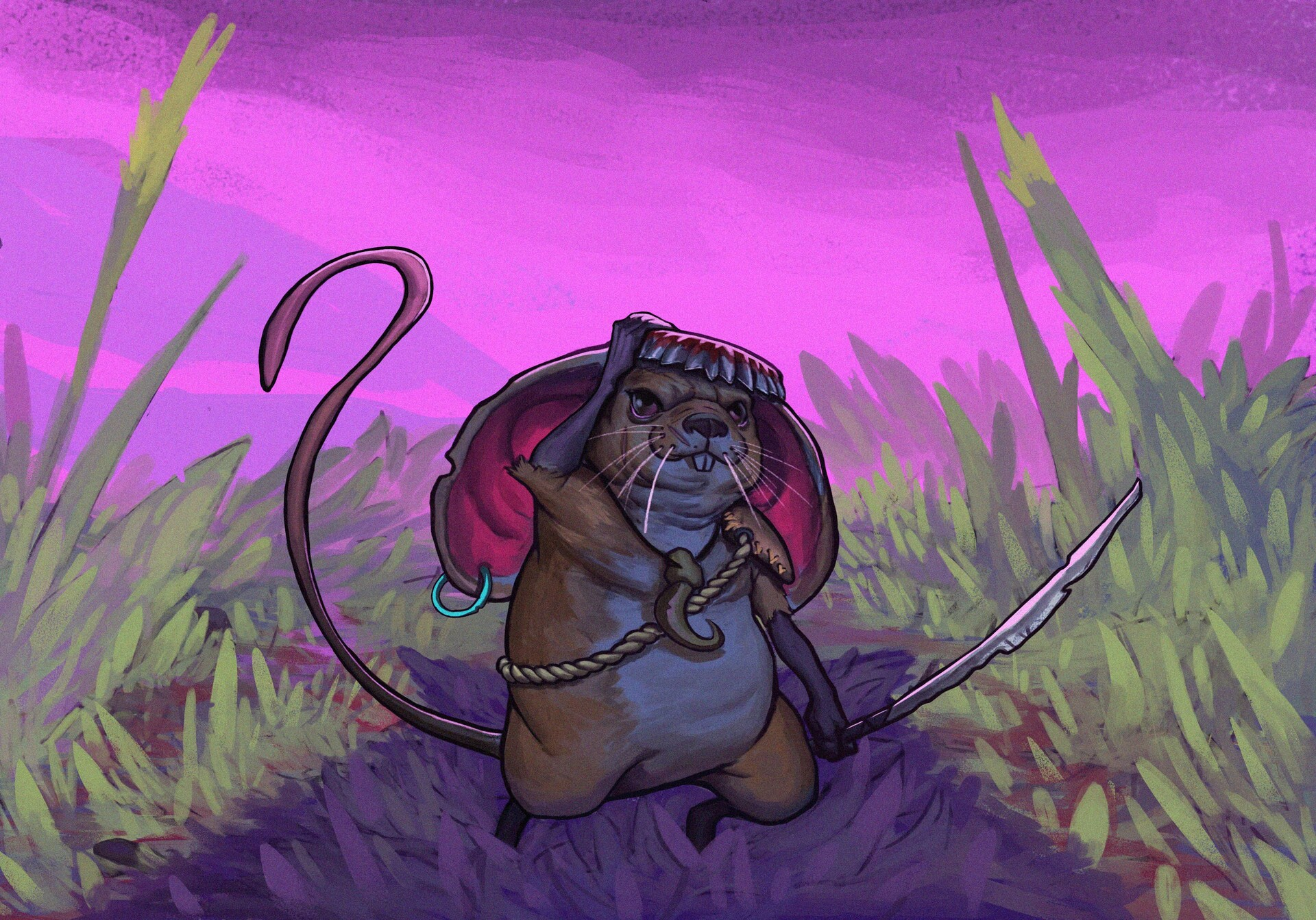 Juanda rico mouse character design challenge