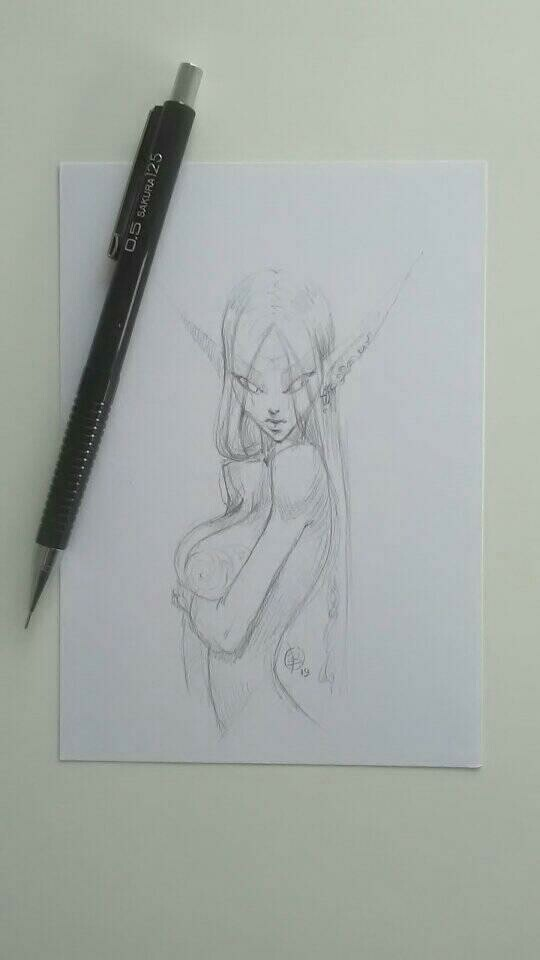 Andrey kamenov morningsketch elf