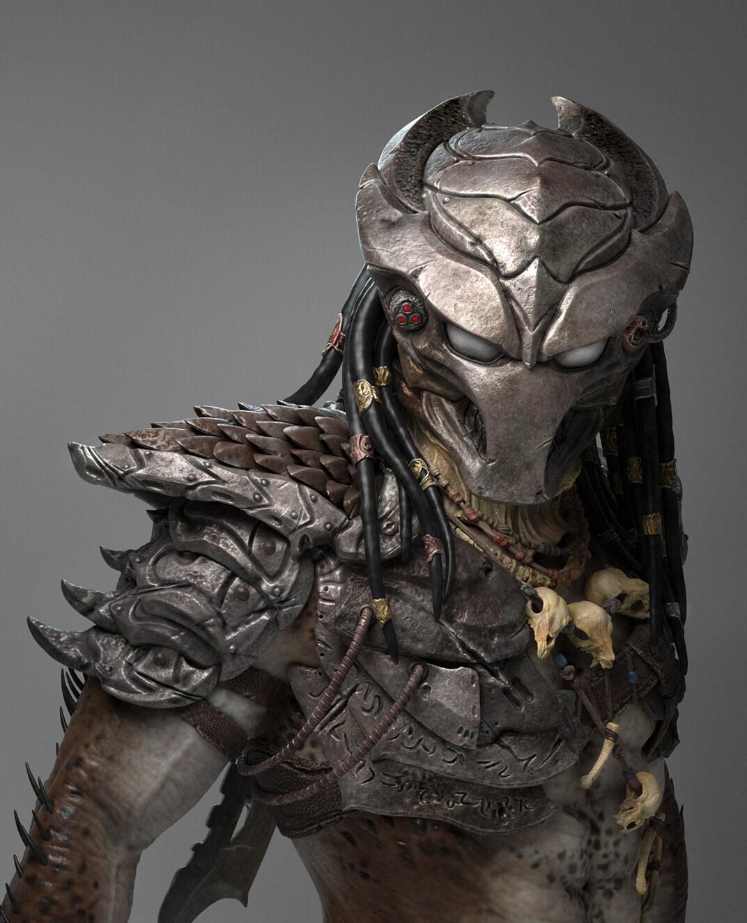 Tiago rios render predator01