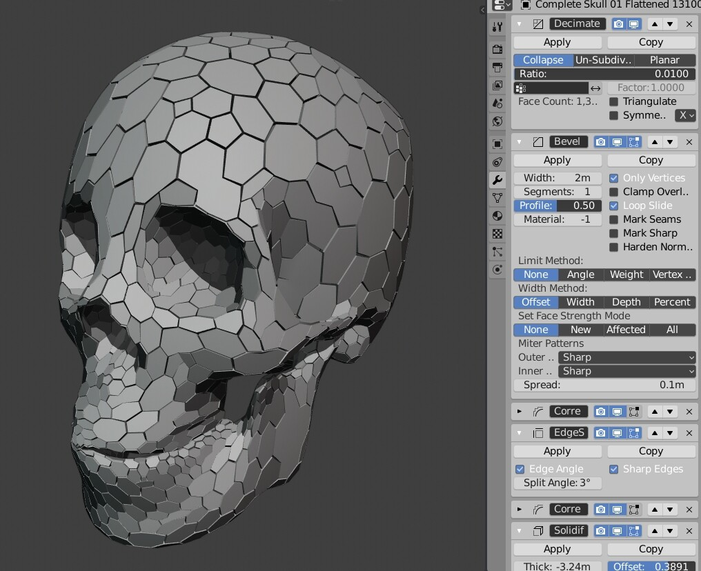 Francois rimasson skull
