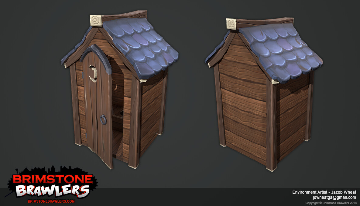 Jacob wheat brimstone brawlers outhouse