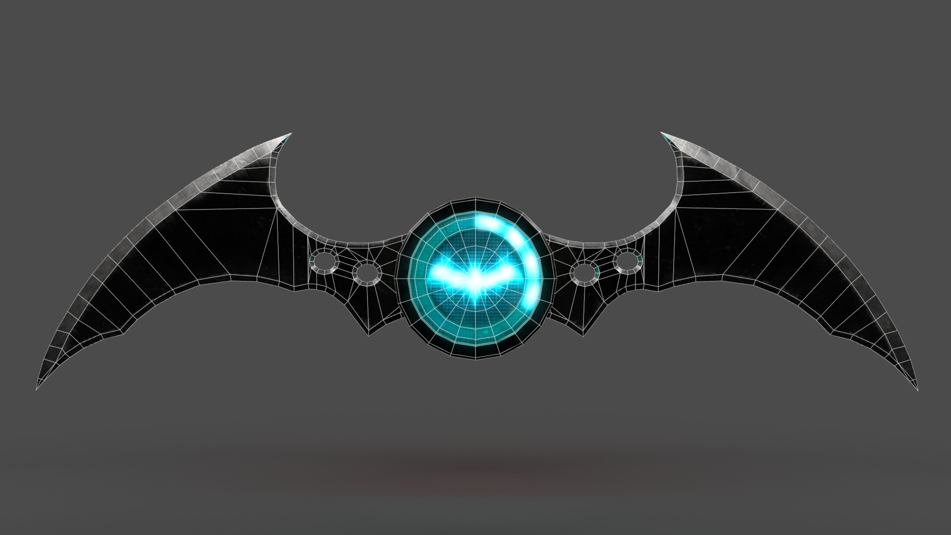 Iain gillespie batarang wireframe