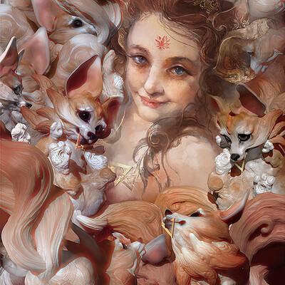 Te hu fox girl
