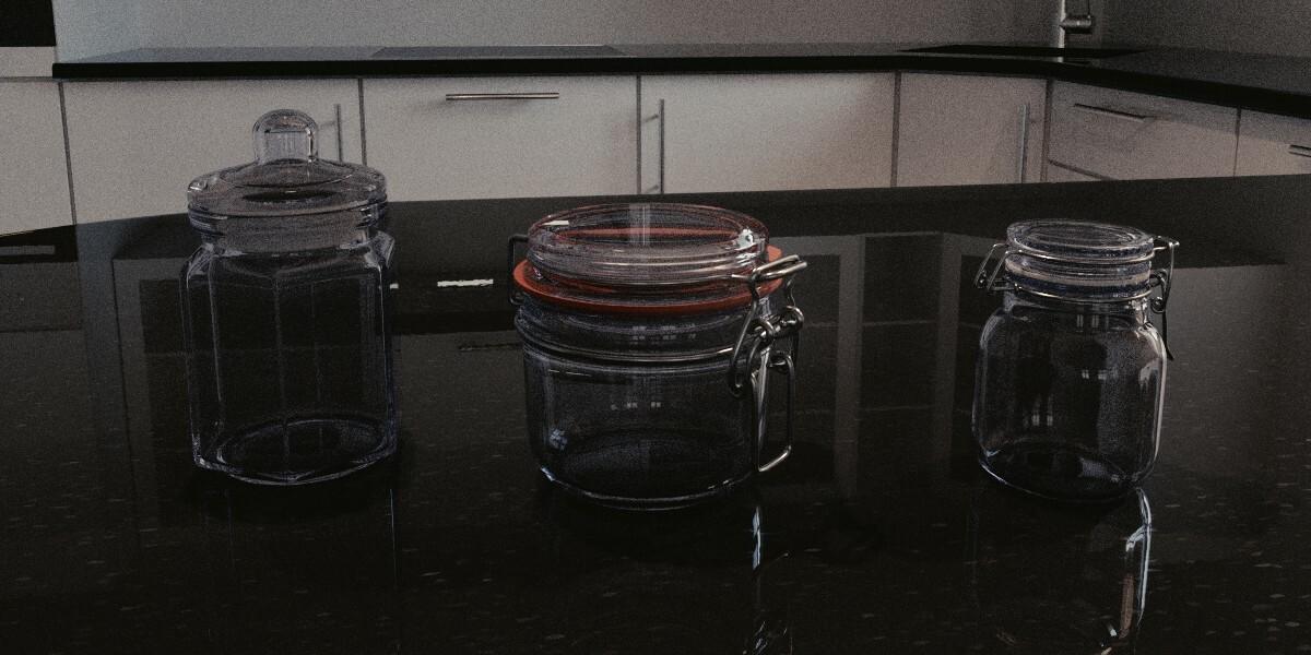 Finished Digital Render, Completed in Blender Cycles at 500 Samples.