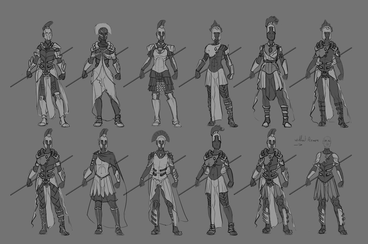Armor thumbnails