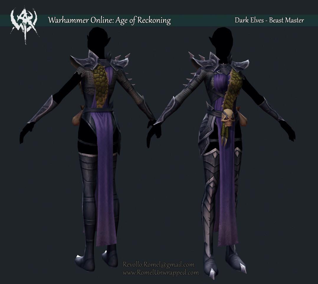 Warhammer Online: Age of Reckoning Dark Elves - Beast Master (NPC)