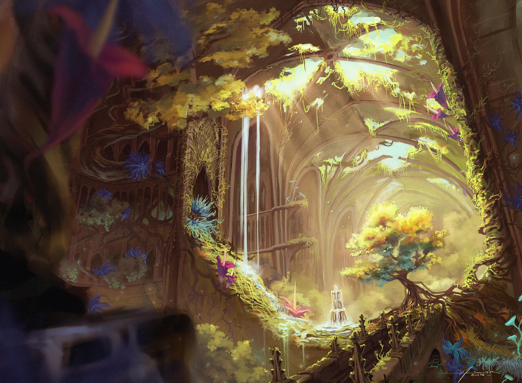Imaginative & Dreamy Paintings by Asur Misoa