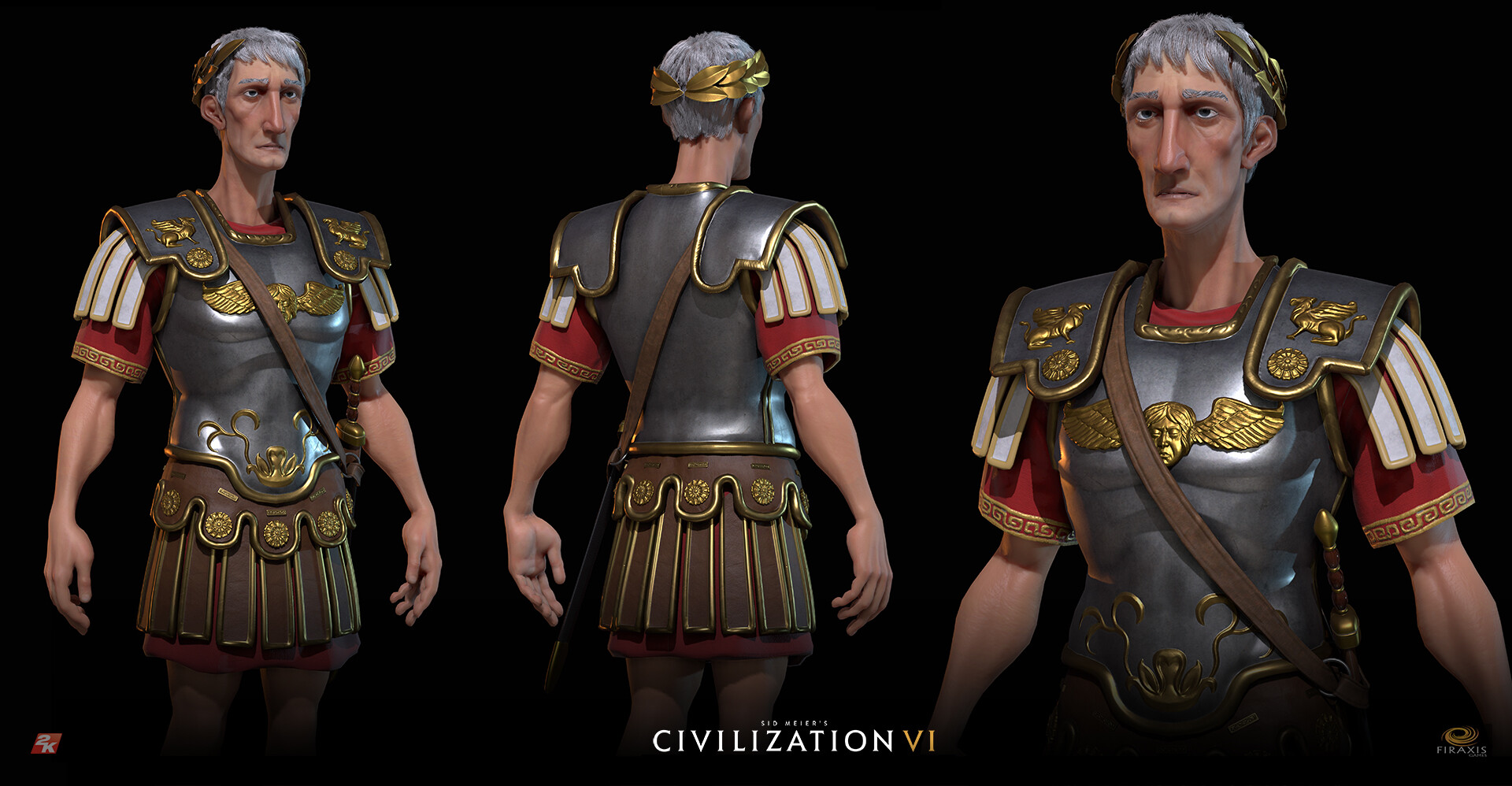 David jones civvi trajan modelsheet