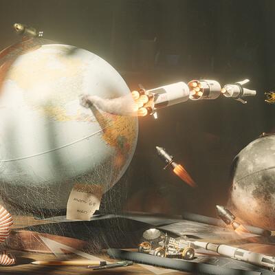 Tamas torok moon landing final 4k