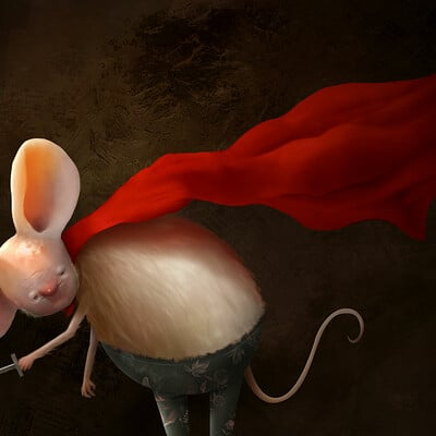 Alexander skachkov mouse warior