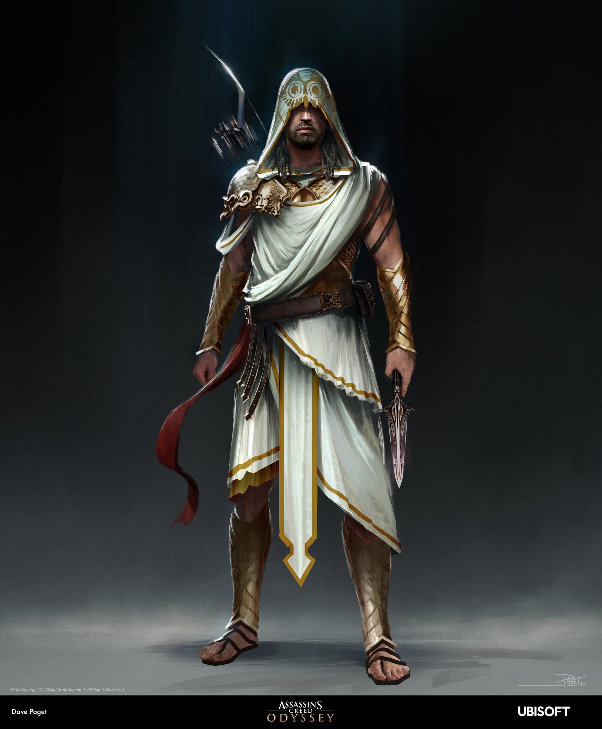 David paget athena armour