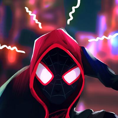 Bryan draws spiderman final 2