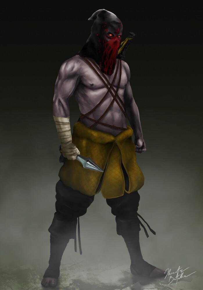 Artstation Mortal Kombat Scorpion Redesign Jhonatas Batalha