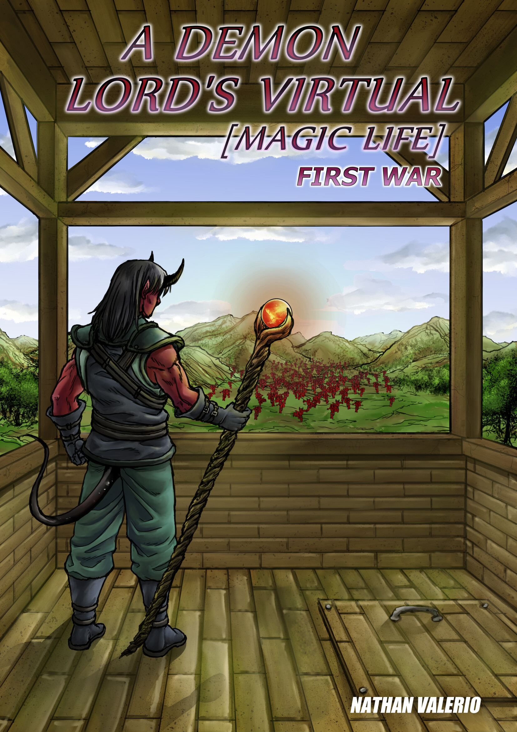 Gustavo melo cover demon s lord virtual magic life first war low