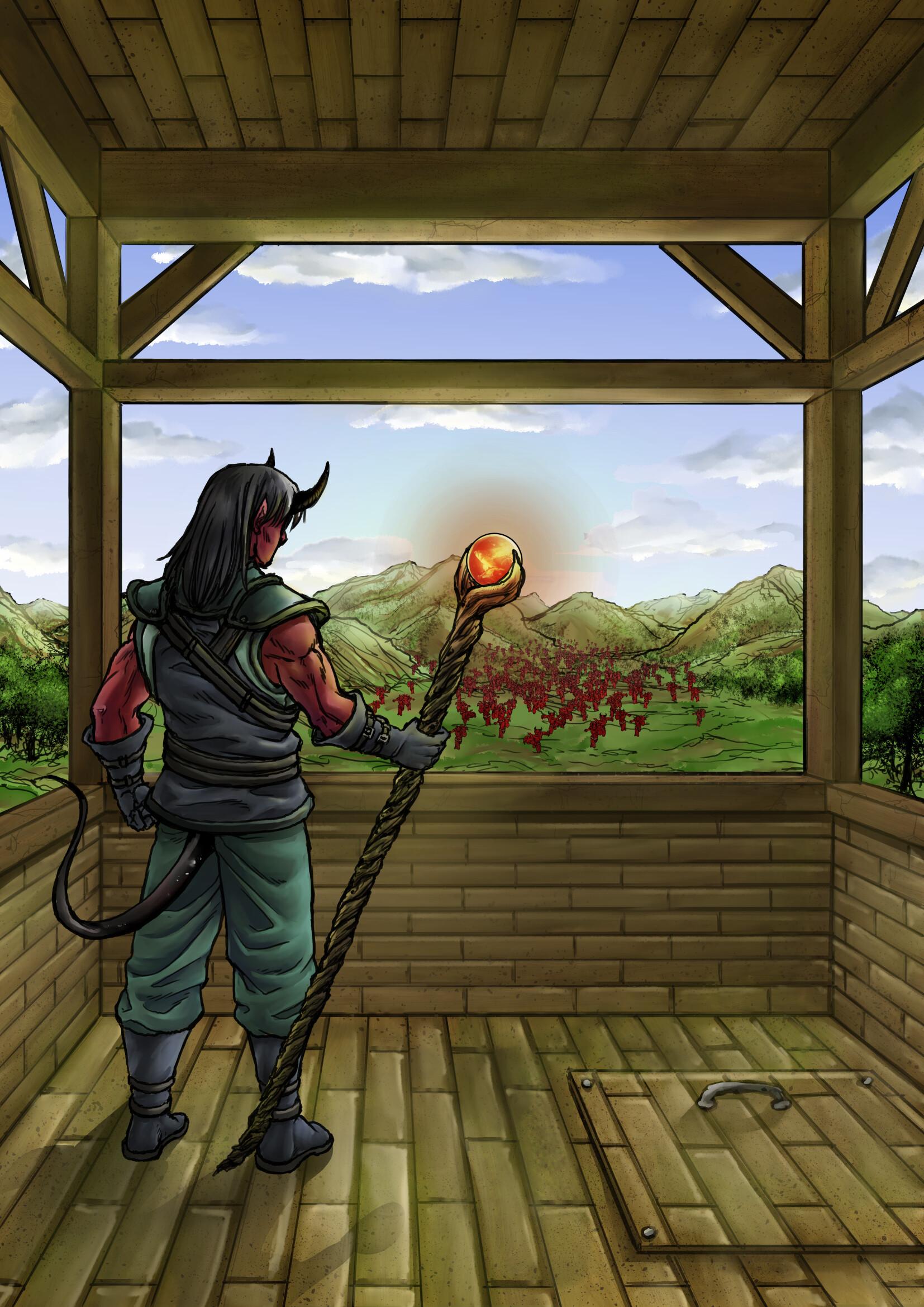 Gustavo melo demon s lord virtual magic life first war low