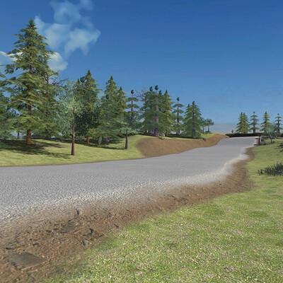 Road Construction Environment