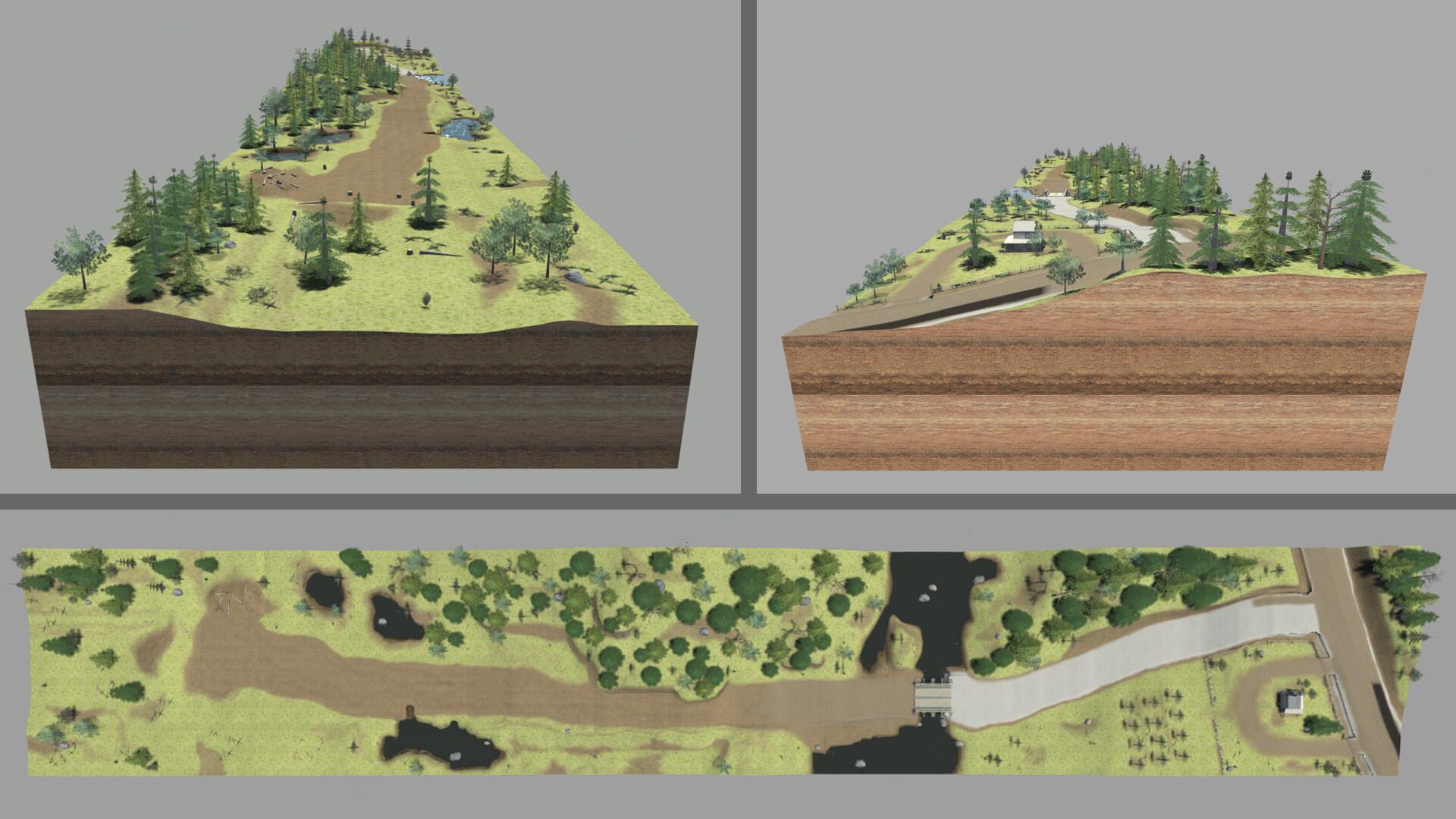 Jordan cameron terrain topandsideviews