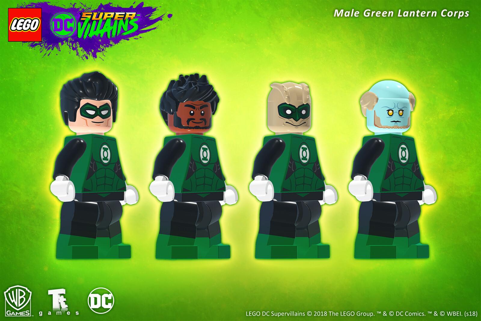 Male Green Lantern Corps