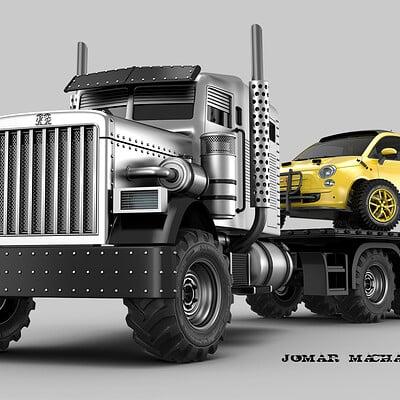 Jomar machado battle truck clean