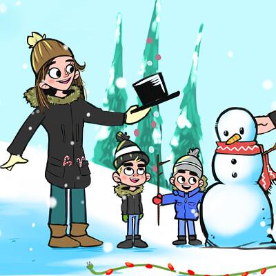 Rob de souza snow family snow