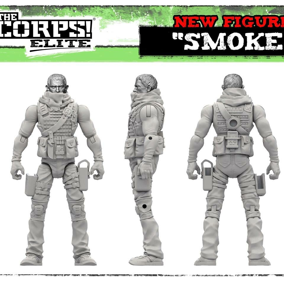 Ben misenar the corps elite smoke 4 horseman