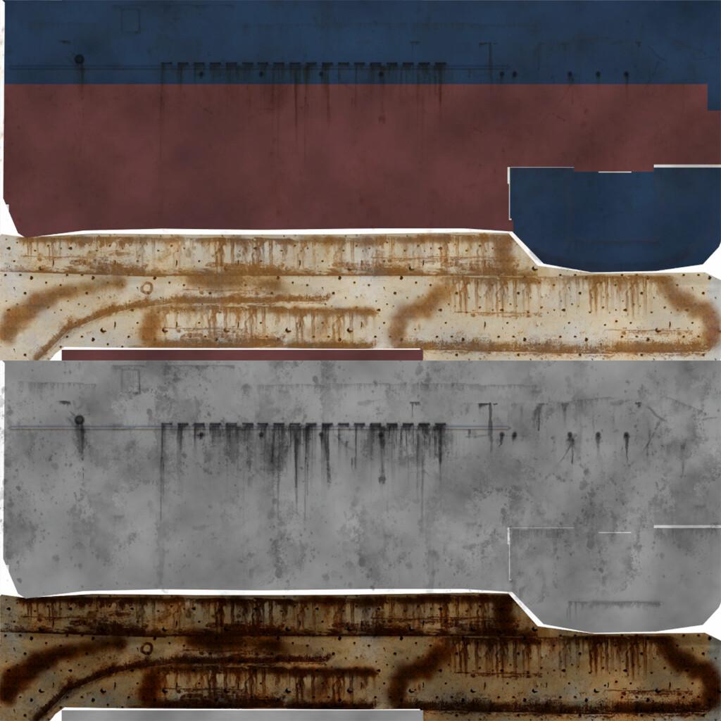 Justin wildhorn coastguard ship textures 02