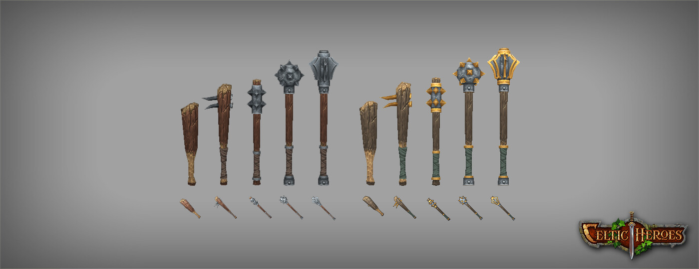 Viktor saghy celticheroes weapons clubs page 01