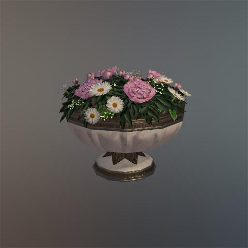 Elise ejtheartist motzny floralcenterpiece bowl