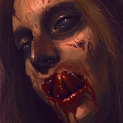 Marcos martins mmartins zombie woman