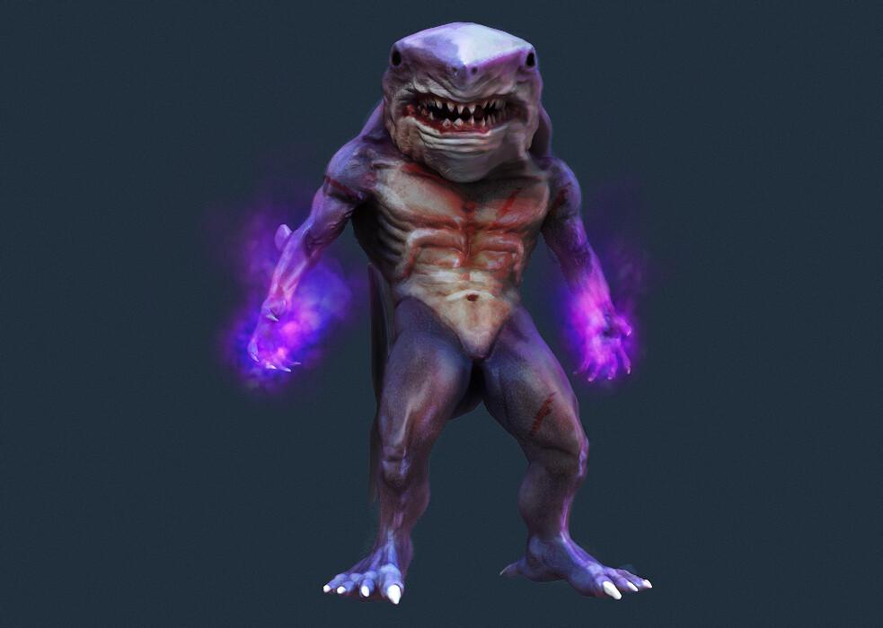 Mitchell sisson shark render