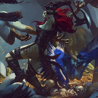Bayard wu fighting in the harpy nest
