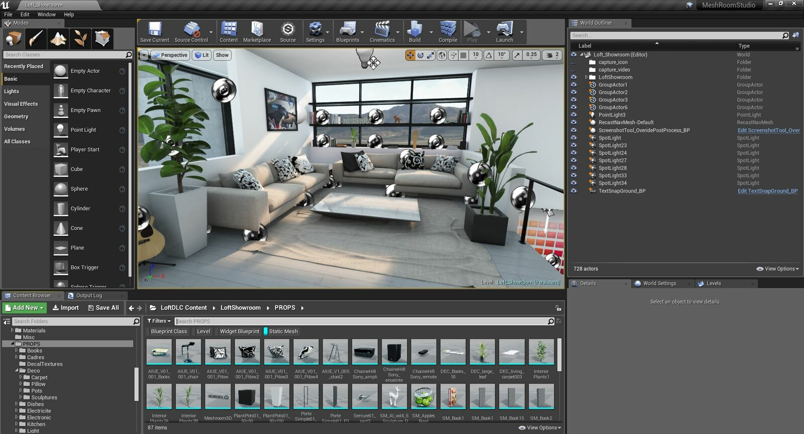MeshroomStudio_LoftEnvironment 2018 - Production