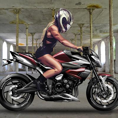 Oberdan bezzi suzuki b king 1400 next rider