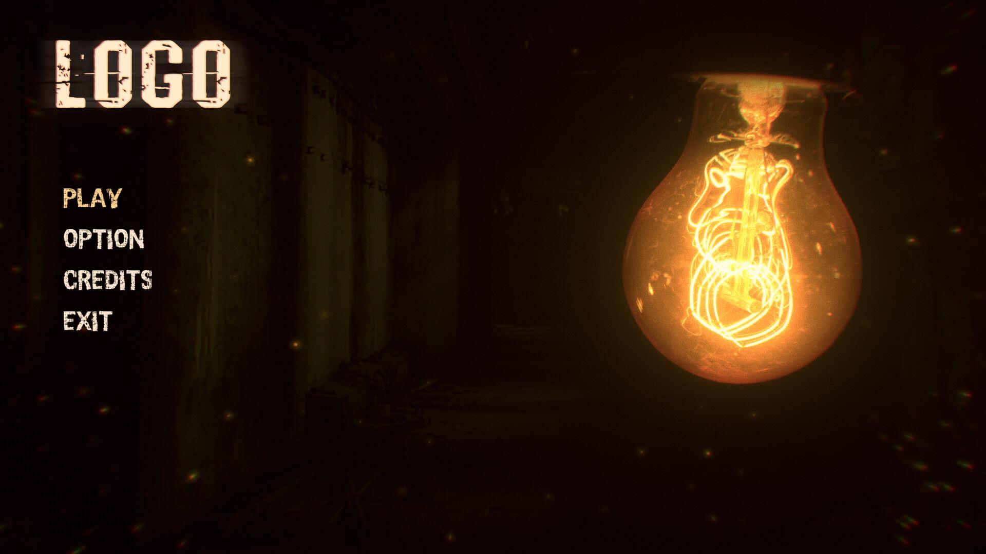 ArtStation - Unity - Horror Game Menu, Alexander Prudko