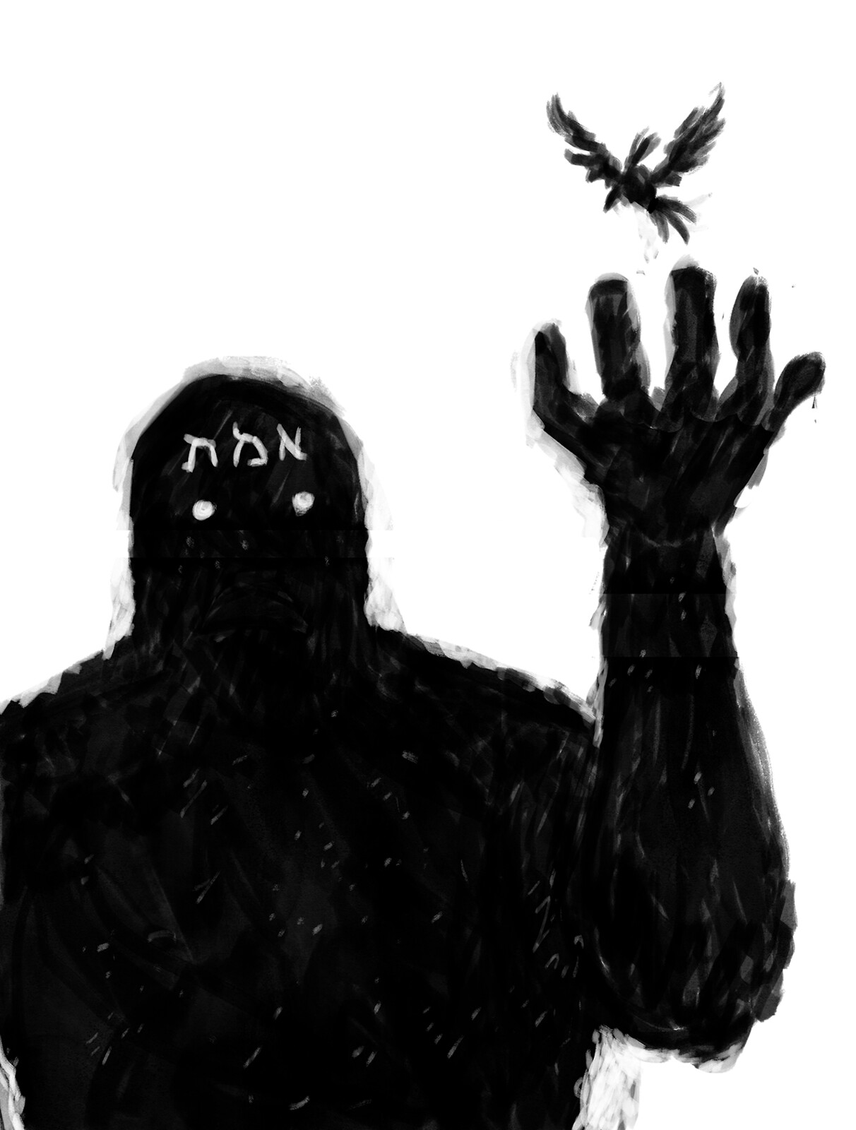 The Golem and the Bird «There is something at work in my soul, which I do not understand.»   (Mary Shelley, Frankenstein)