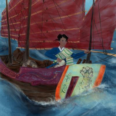 Sandy jacobs tolle soriya ship