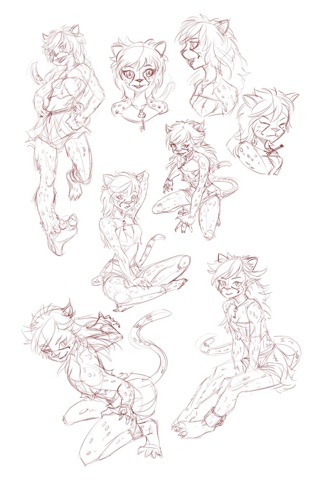Runt, Character sheet