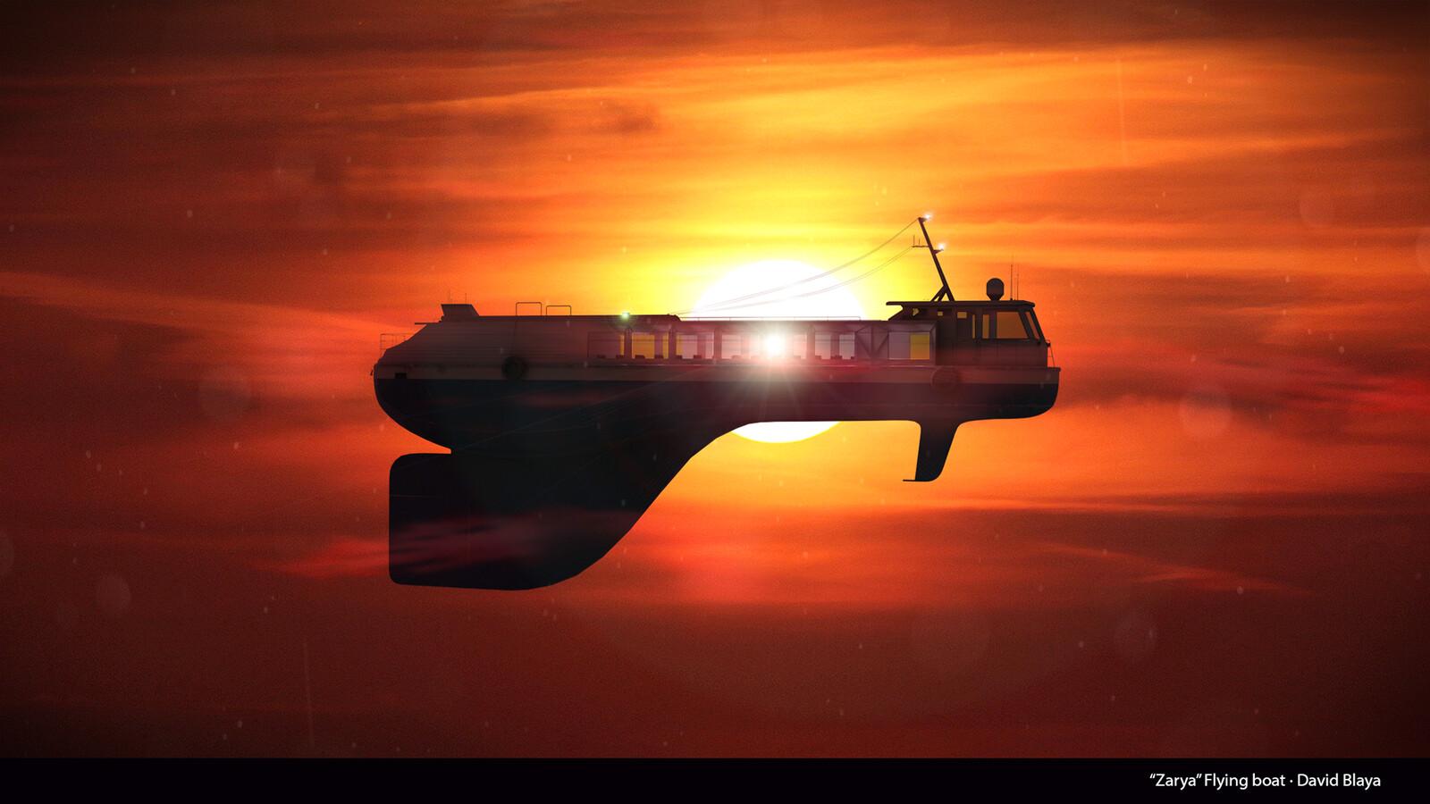 """""""Zarya"""" Flying Boat"""