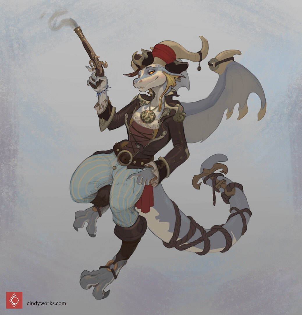 Cindy avelino pirate dragoness