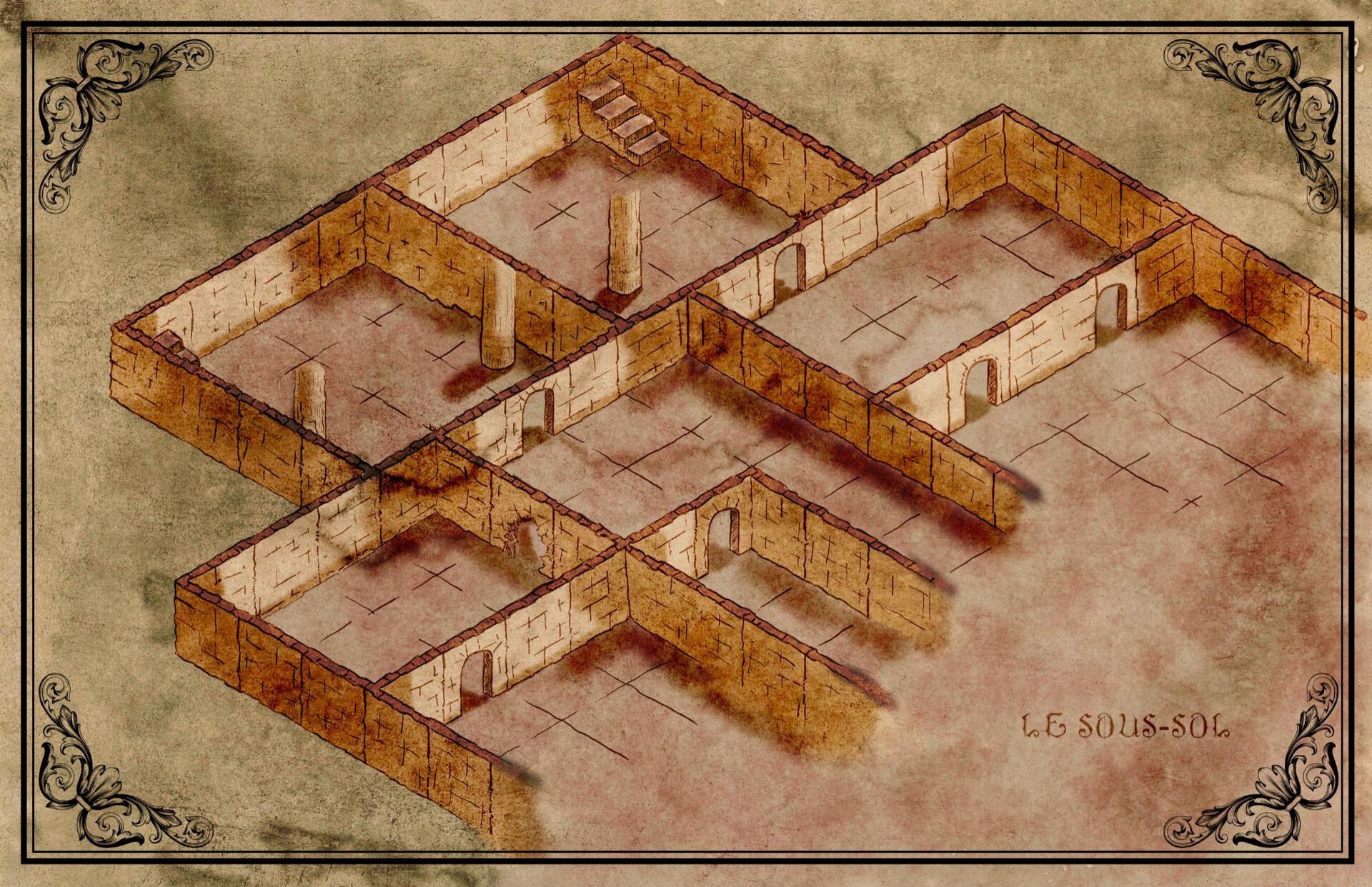 Plan isométrique d'exemple