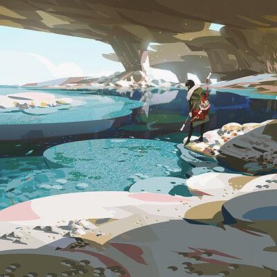 Yun ling water rock2