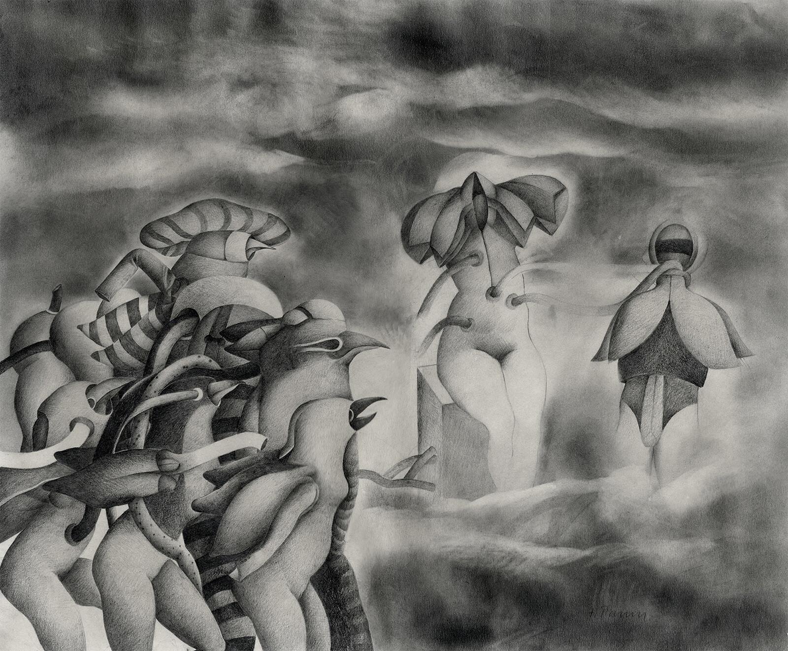 Original drawing by Tomás Parra