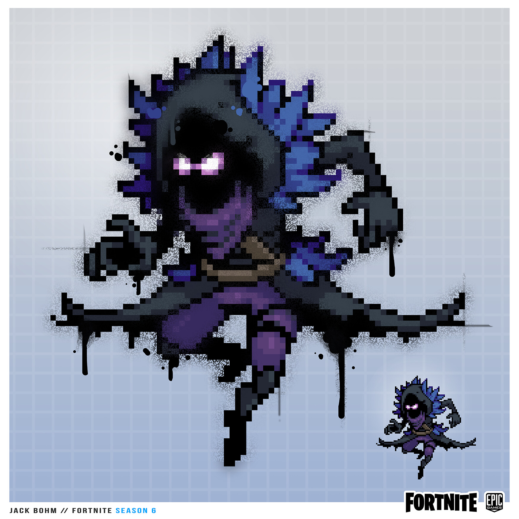 Dessin Pixel Art Fortnite Lama How To Hack Fortnite