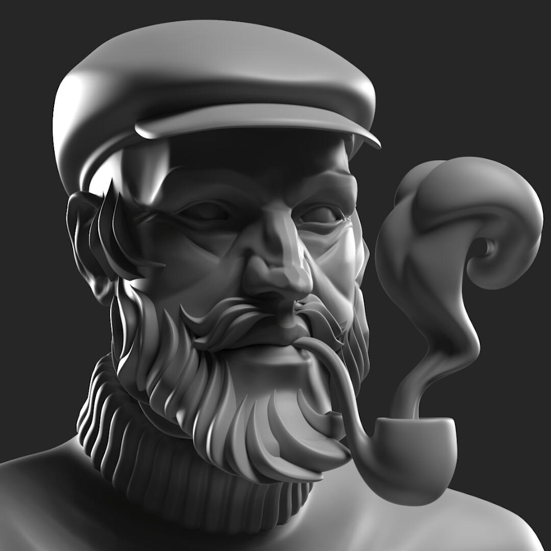 Krzysztof gryzka body beard